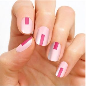 Color Street Pink Nails - Out Of The Box